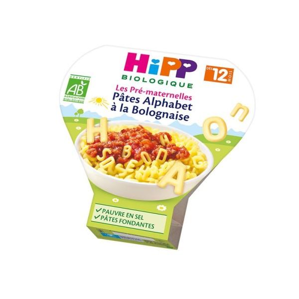 Les Pré-Maternelles Pâtes Alphabet à la Bolognaise (Dès 12 mois) - 6 assiettes - Hipp Biologique - Photo n°1