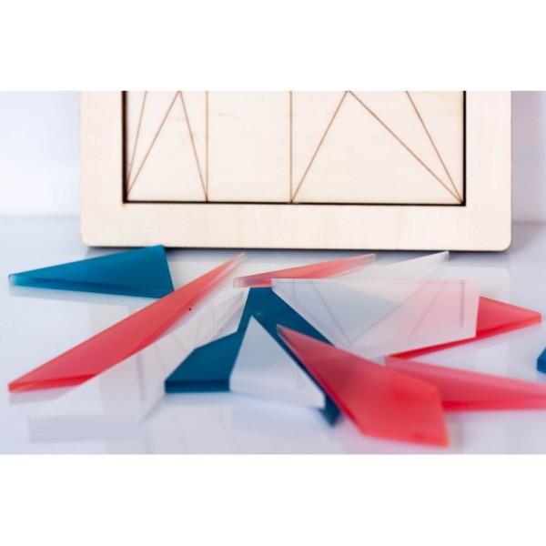 Le Stomachion - Puzzle Géométrique - Photo n°4