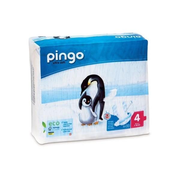 Couches écologiques Pingo Maxi Taille 4 - 7/18 Kg - 1 paquet - Photo n°1