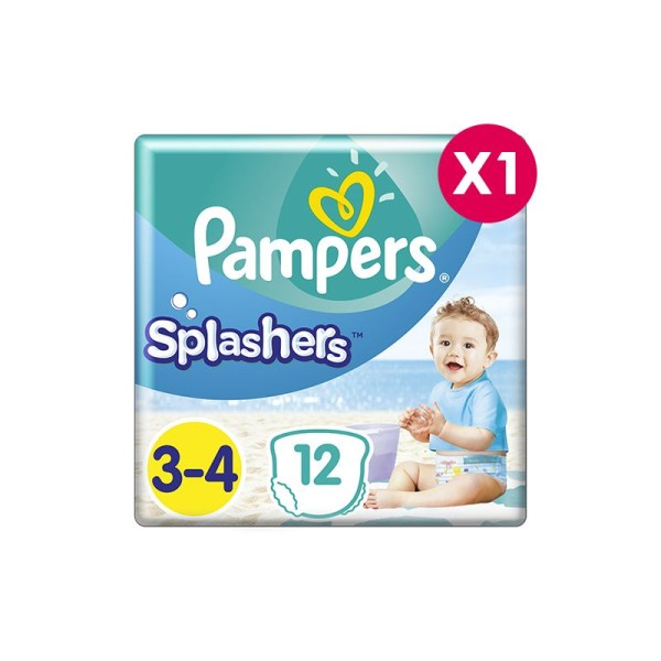Couches de bain Pampers Splasher Taille 3 - Photo n°1