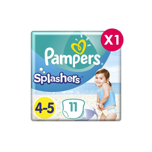 Couches de bain Pampers Splasher Taille 4 - Photo n°1