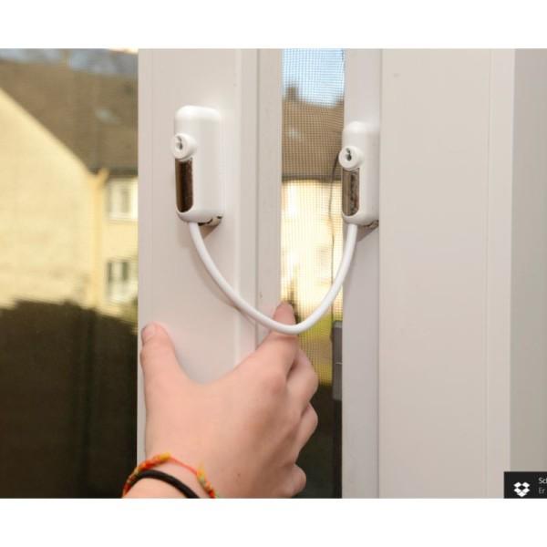 Clé supplémentaire pour l'entrebâilleur pour fenêtre - Arte Viva - Photo n°1