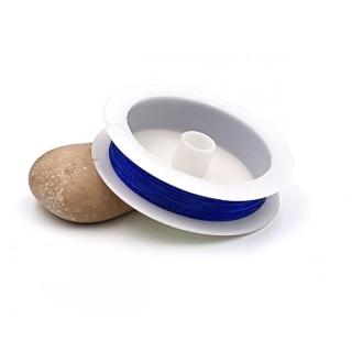 Fil Cuivré 0.3mm Couleur Bleu Foncé, Bobine De 23 Mètres