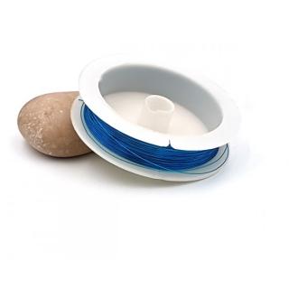 Fil Cuivré 0.3mm Couleur Bleu, Bobine De 23 Mètres