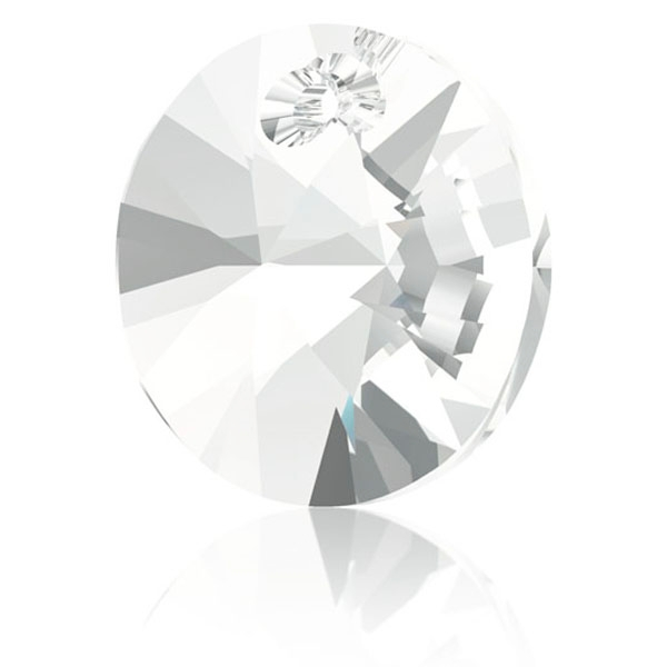 Pendentif xilion Swarovski 8mm 6428 crystal - Photo n°1