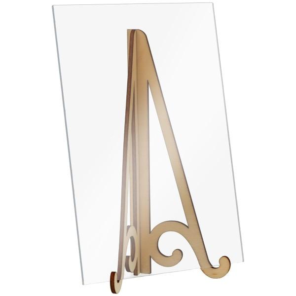Mini Chevalet en bois - 14 x 6 cm - 1 pce - Photo n°4