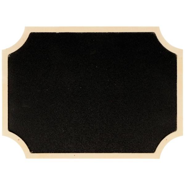 Tableau ardoise décoratif - Étiquette - 15 x 11 cm - Photo n°1