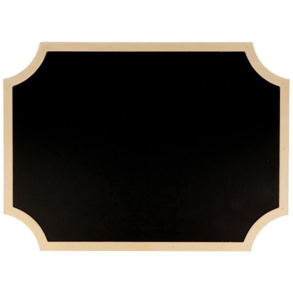Tableau ardoise décoratif - Étiquette - 30 x 22 cm - Photo n°1