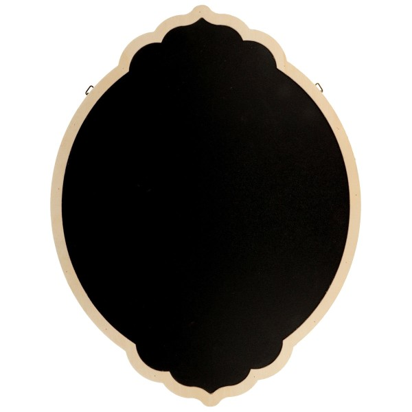 Tableau ardoise décoratif - Arabesque - 35 x 27 cm - Photo n°1
