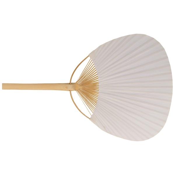 Éventail en bambou et papier à décorer - 37 cm - Photo n°2