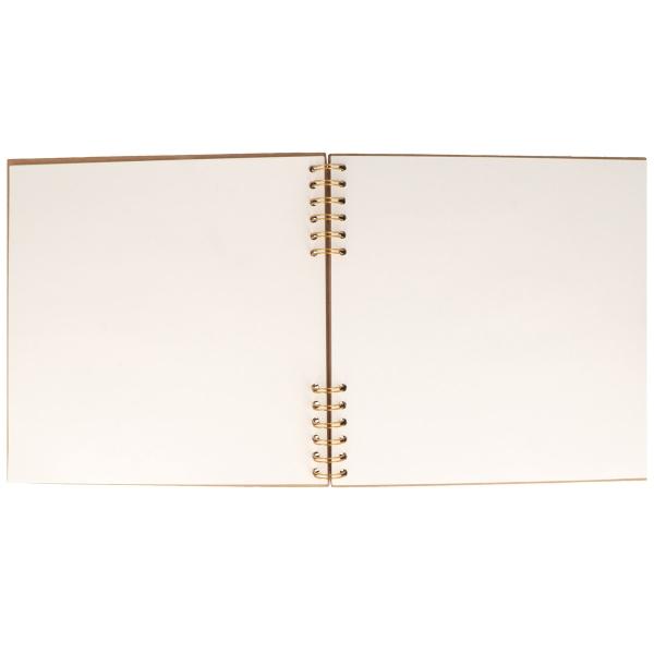Album Kraft Livre d'or à décorer - Coeur - 25 x 25 cm - 40 pages - Photo n°1