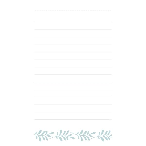 Bloc notes Artemio Collection Slow Life - 14 x 7,5 cm - 100 pages - Photo n°3