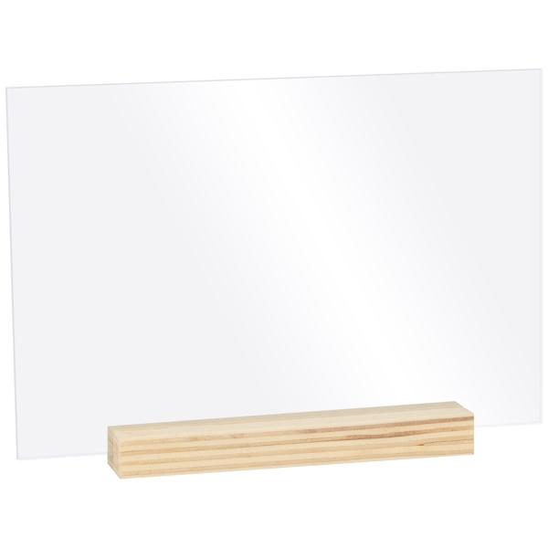 Set de Panneaux Plexi à décorer - 15 x 10 cm - 5 pcs - Photo n°1