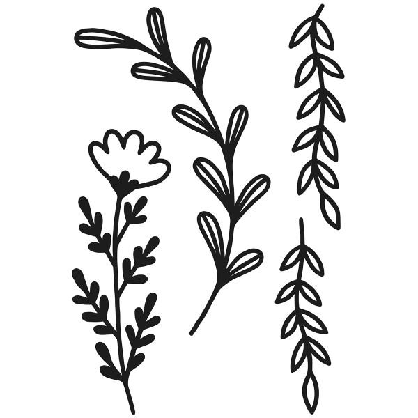 Matrice de coupe Artemio - Slow Life Branches - de 7 à 11,5 cm - 4 pcs - Photo n°2