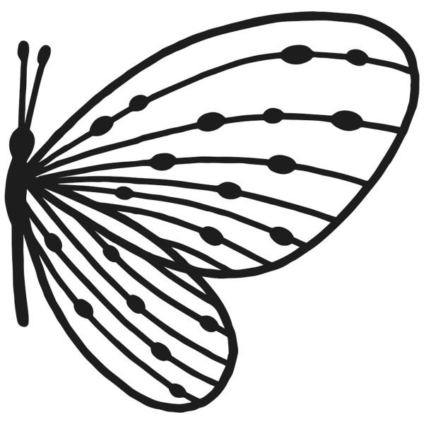 Matrice de coupe Artemio - Papillon perlé - 8 x 7,5 cm - 1 pce - Photo n°2
