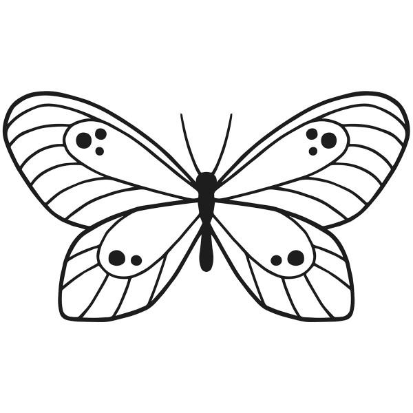Matrice de coupe Artemio - Papillon - 13 x 7,5 cm - 1 pce - Photo n°2