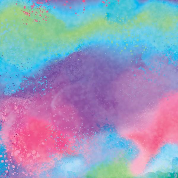 Infusible Ink à motifs Cricut Maker - Watercolour Splash - 30,5 x 30,5 cm - 2 feuilles - Photo n°2