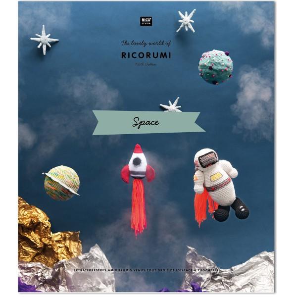Livre crochet Ricorumi - Espace - 8 modèles - 16 pages - Photo n°1
