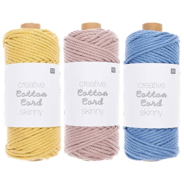Bobine coton câblé - Cotton Cord Rico Design - 3 mm - 55 m - Photo n°1