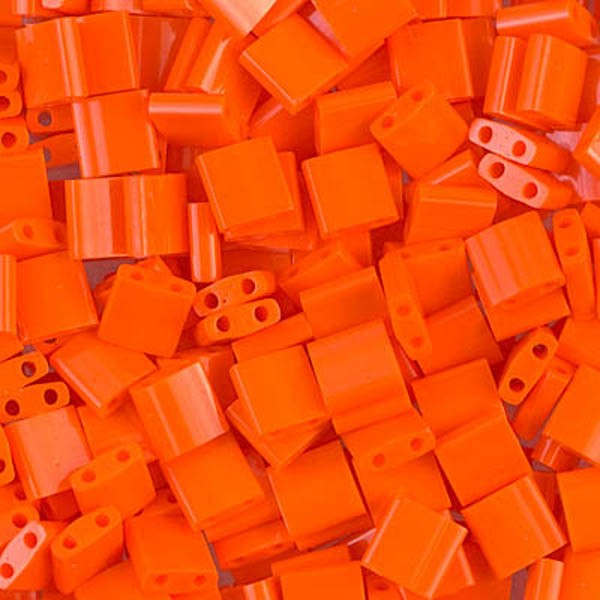 5g Miyuki Tila opaque orange TL-406 - Photo n°1