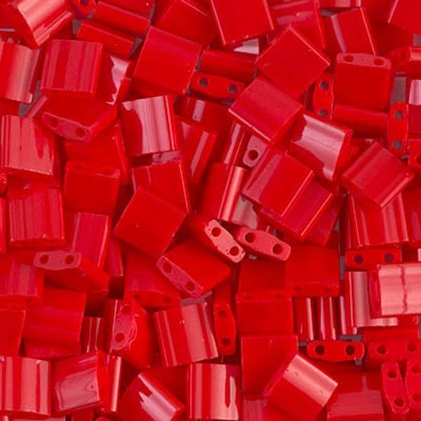 5g Miyuki Tila opaque red TL-408 - Photo n°1