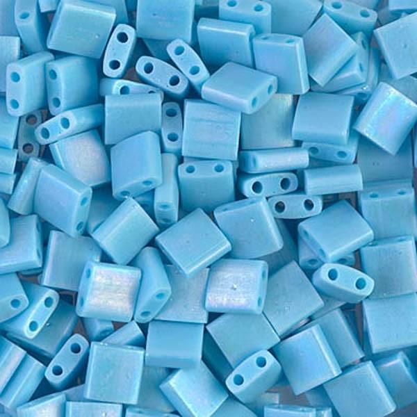 5g Miyuki Tila opaque turquoise blue TL-413FR - Photo n°1