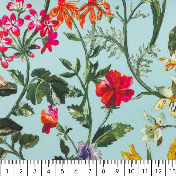 Tissu Liberty coton léger - Lockwood - Par 10 cm - Photo n°2