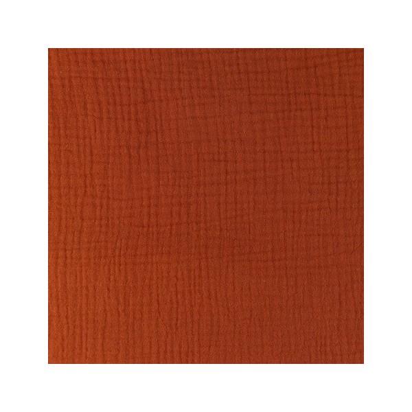 Double gaze de coton tissu-Vendu par Mètre