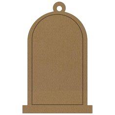 Cloche en bois à suspendre - 12 cm