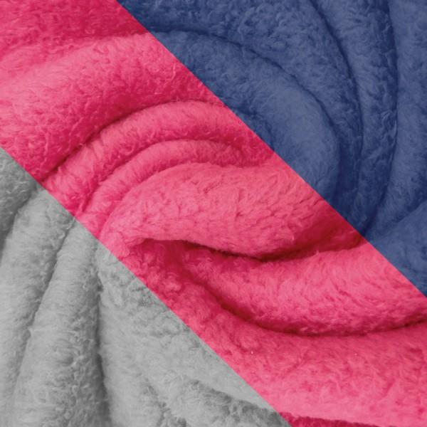Tissu Doudou - Vendu par 10 cm - Photo n°1