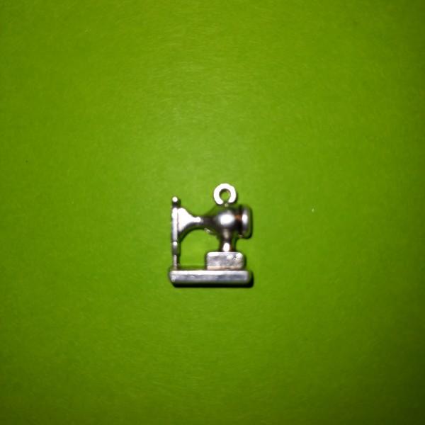 La machine à coudre en broque, 1 cm de couleur blanche - Photo n°1