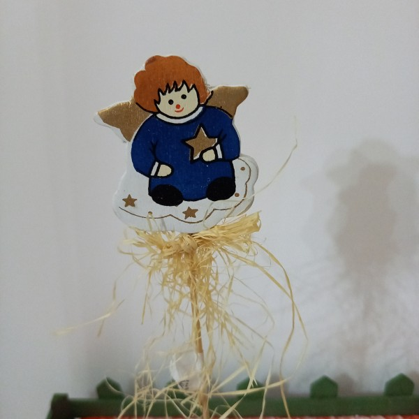Un ange  pour la décoration des fêtes - Photo n°1