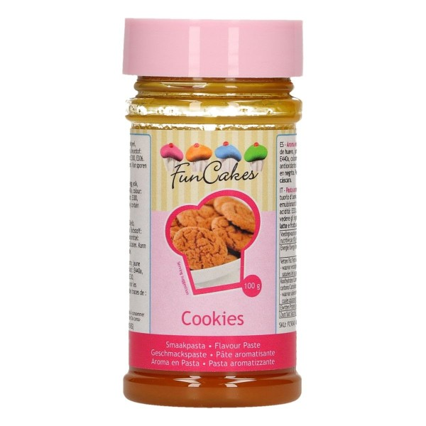 Pâte aromatisante Biscuits 100 gr - Photo n°1