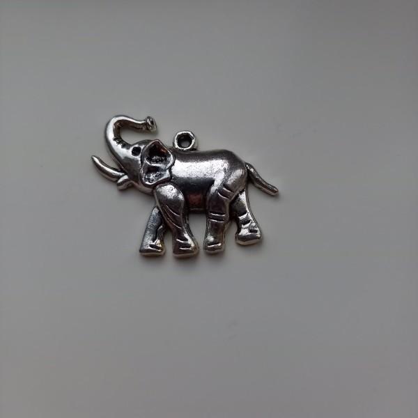 Magnifique éléphant aux grandes oreilles, breloque - Photo n°1