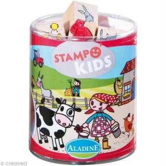 Kit 15 tampons Stampo'kids Lili à la ferme