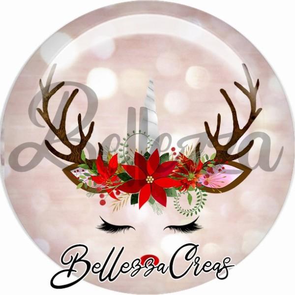 Cabochon, Noël, évènement, plusieurs tailles disponibles - Photo n°1
