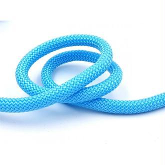 Corde Tressée Diamètre 10mm, Bleu Turquoise, Au Mètre