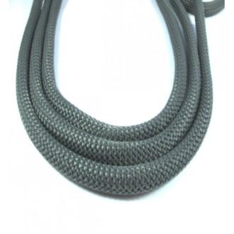 Corde Tressée Diamètre 10mm, Gris, Au Mètre