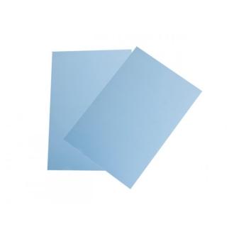Feuille De Plastique Dingue Couleur Bleu 29x20cm
