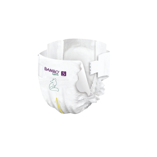 Couches Bambo Nature Junior T5 - 12/18 kg - 1 paquet - Photo n°2