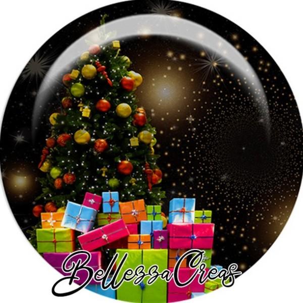 Cabochon, sapins, cadeaux,Noël, évènement, plusieurs tailles disponibles - Photo n°1