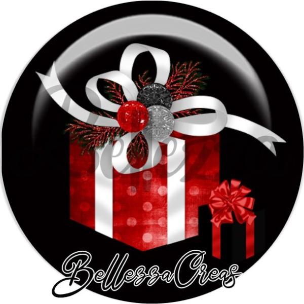 Cabochon, cadeaux,Noël, évènement, plusieurs tailles disponibles - Photo n°1