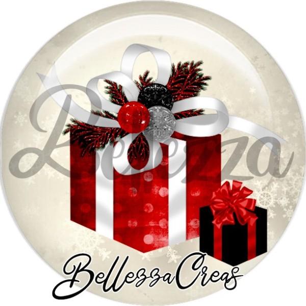 Cabochon, cadeau de noël,Noël, évènement, plusieurs tailles disponibles - Photo n°1