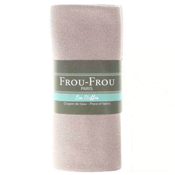 Coupon de tissu Jersey Sweat - Lurex - Rose - 145 x 60 cm - Photo n°1