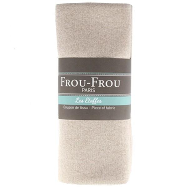 Coupon de tissu Jersey Sweat - Lurex - Rose Blush - 145 x 60 cm - Photo n°1