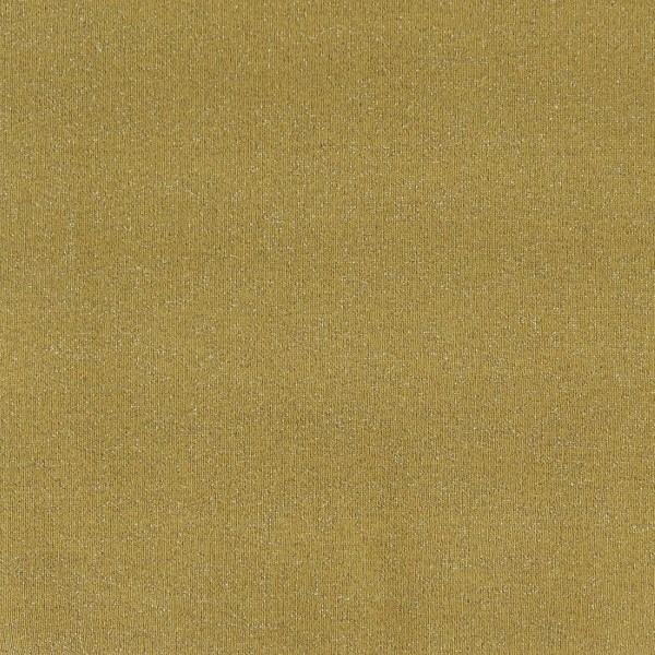 Coupon de tissu Jersey Sweat - Lurex - Moutarde - 145 x 60 cm - Photo n°2