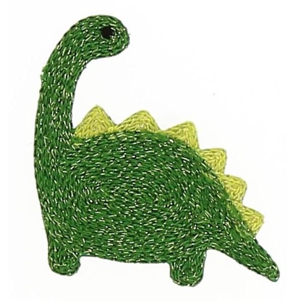 Motif thermocollant - Dinosaure - 6 x 6,5 cm - Photo n°1