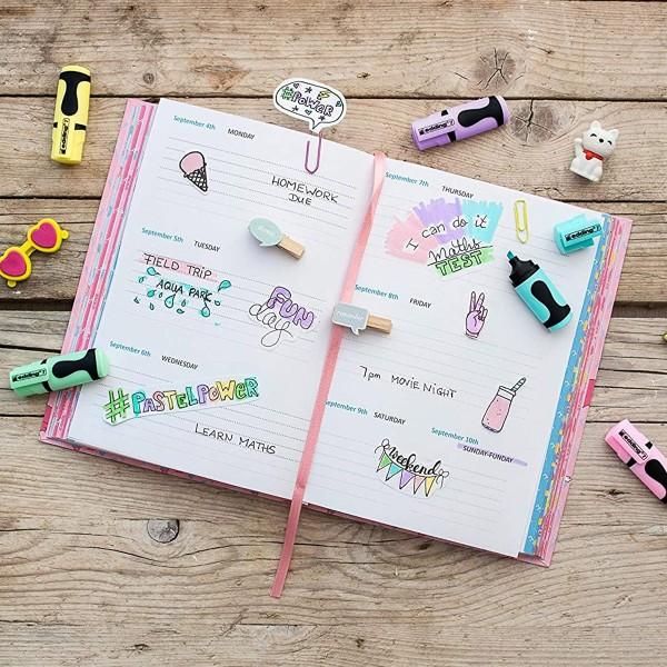 Set de Mini surligneurs Edding - Pastel - 4 pcs - Photo n°3