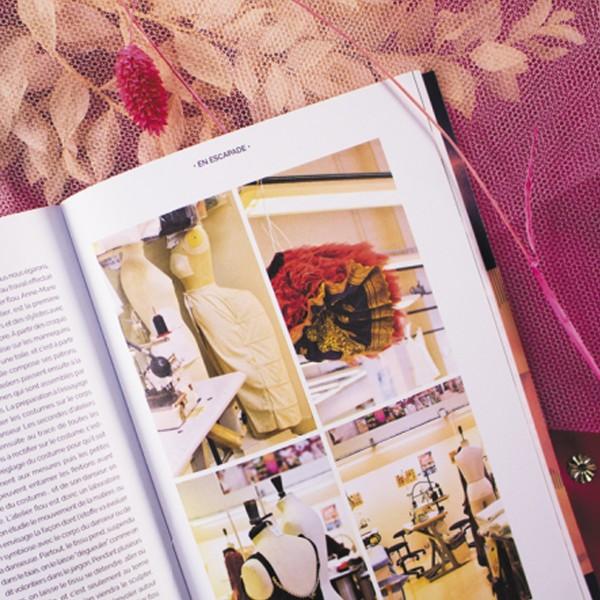 Livre couture - Les cahiers Artesane N°3 - L'envolée belle - Photo n°2