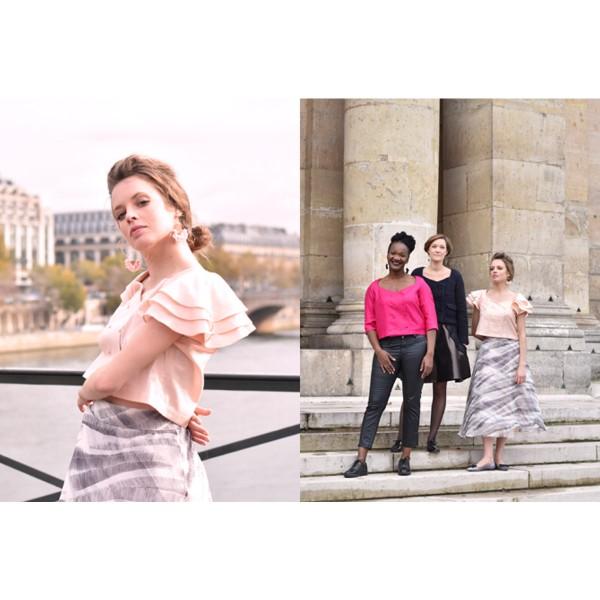 Livre couture - Les cahiers Artesane N°3 - L'envolée belle - Photo n°3